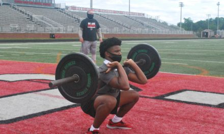 Teams start football workouts in Phase I