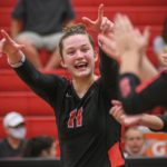 Falcons' volleyball shocked in second round of playoffs