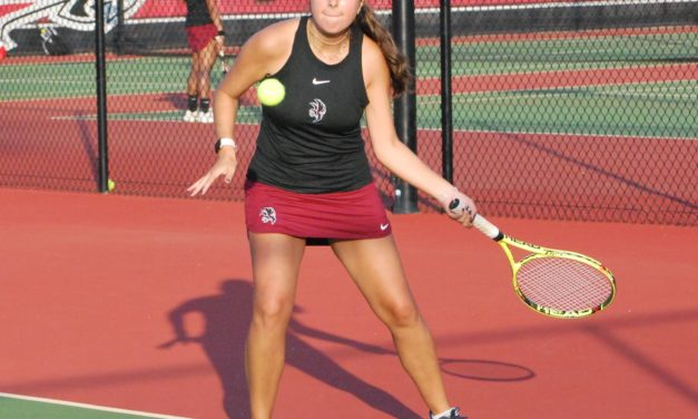 Nation Ford tennis closes in on Region title, golfers win tri-match