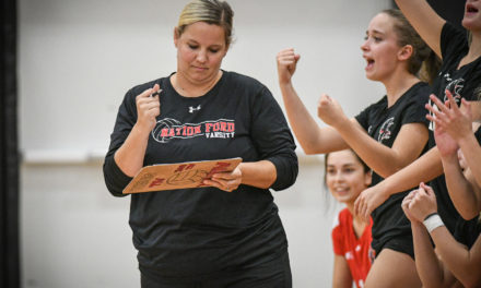 Christian steps down as Falcons' volleyball coach