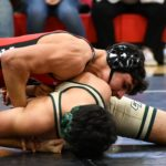 Falcons' wrestling stays undefeated, rallies over Catawba Ridge