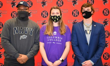 Falcons have three athletes commit to college