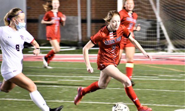 Nation Ford girls' soccer falls in home opener