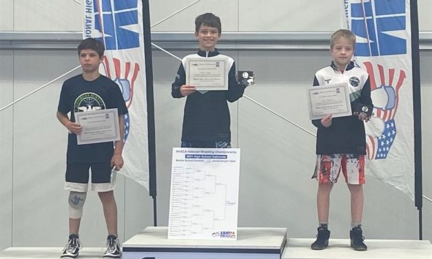 Local wrestler wins national championship, Jackets' wrestler finishes fifth in country