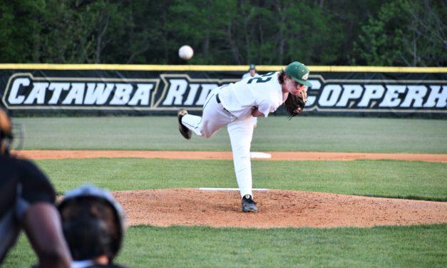 Catawba Ridge baseball crush Lancaster in a blowout win
