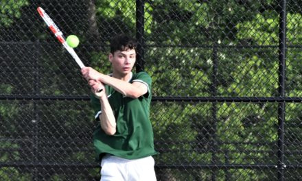 Tennis teams take opening round playoff losses