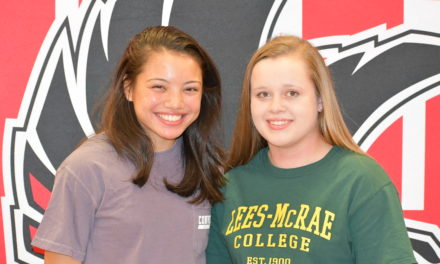 Two Nation Ford athletes sign for college
