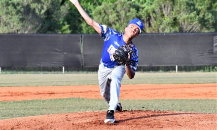 Post 43 juniors rout York in team debut to make history
