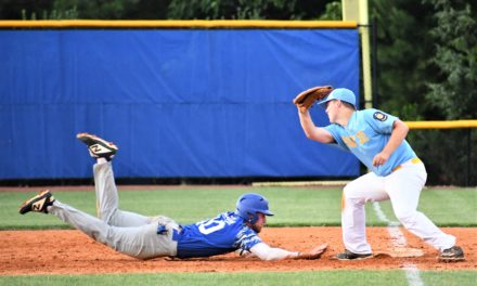 Eleven run inning helps Post 43 seniors pull off rally over Lancaster