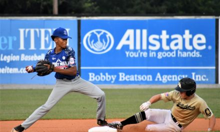 Post 43 wins blowout behind Ashworth, Ross four RBI game