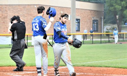 Post 43 opens second round with wins