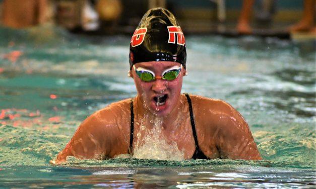 Falcons swim past York and Gaffney to win three-way meet