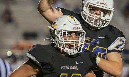 Threatt's TDs help Fort Mill secure emotional 21-13 win over Lugoff-Elgin