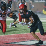 Falcons pound Boiling Springs with eight touchdowns in blowout