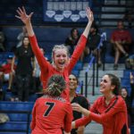 Nation Ford volleyball captures Region 3-5A title after intense battle with Clover